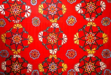 Photo of a beautiful bright East natural ornament for fabrics Archivio Fotografico - 101583842