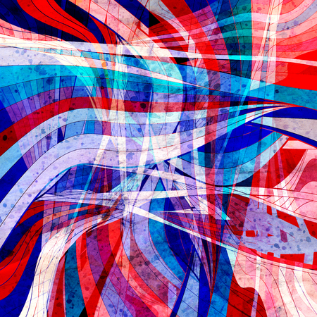 Graphic abstract light waves Stock fotó - 102666214