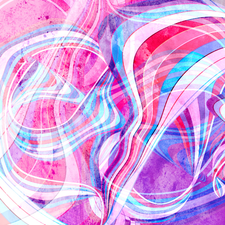 Abstract watercolor bright background with different colorful wave elements Stock fotó - 103148364