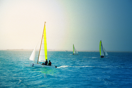 Photos of super sailing yachts on the Red Sea