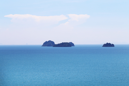 Photo of a tropical seascape with islands in Asia Reklamní fotografie