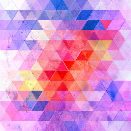 Watercolor retro color abstract geometric background. An example for the design of posters postcards. Stock fotó - 106453463