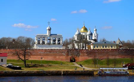 Photos of the landscape of the Great Novgorod Kremlin