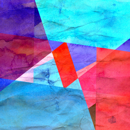 Abstract multicolored geometric trendy background