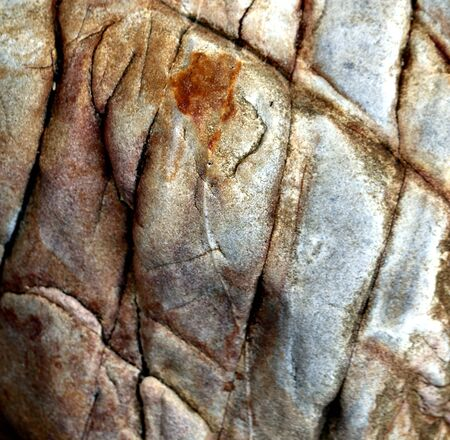 Macro texture photo of powerful stones on a tropical island