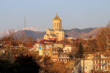 Photos of types of landscape Tbilisi Georgia