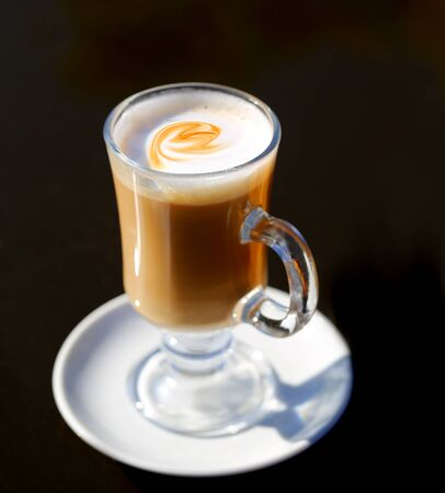Photo of a beautiful delicious coffee