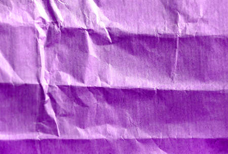 Photo background of craft crumpled colored paper Banco de Imagens