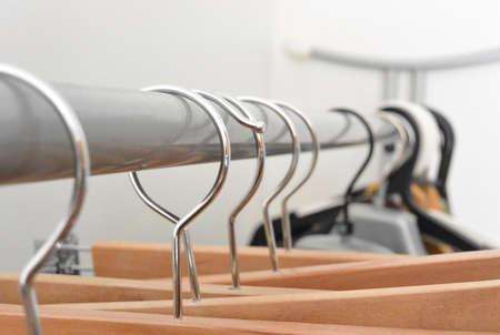 hangers: Clothing hangers