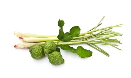 lemongrass: Lemon grass, Kaffir lime and leaves.