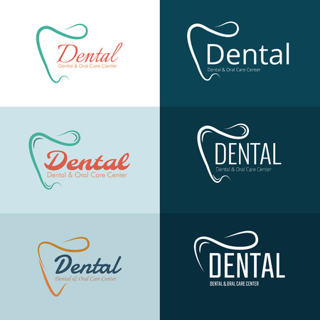 Dental and Oral Health Clinic Concept icon Template