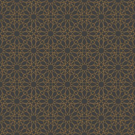 Islamic abstract ornament seamless pattern design use for print and fashion design