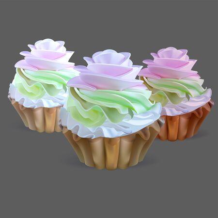 cake vector Illustration