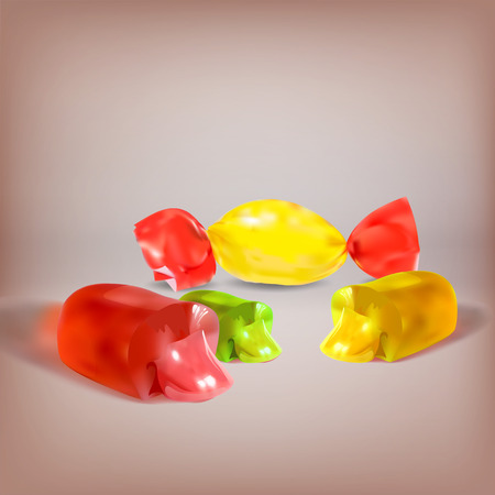 jellybean: candy, jelly filled, liquid filling, sucking candy, cut, icon, vector object isolated, lollipop, chocolate truffles, a set of
