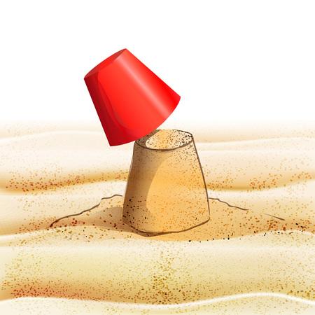 arid: sand texture vector