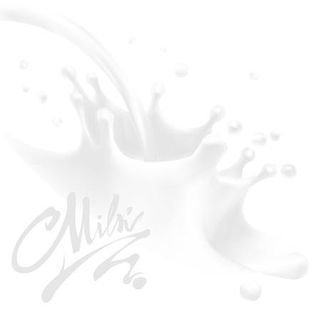 milk vector illustration