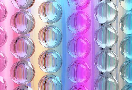 texture abstract color circles Stock Photo