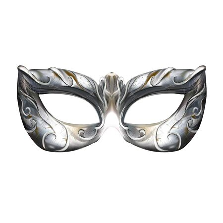 Venetian mask background vector