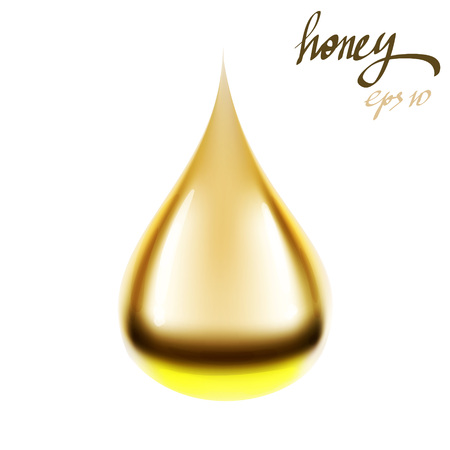honey butter texture illustration