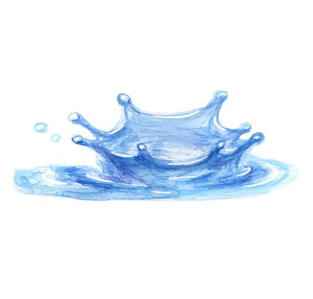 Water aqua illustration art design