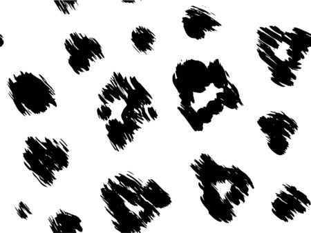 texture leopard illustration print design template