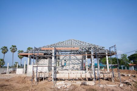 New home under construction  Stock Photo - 16043211