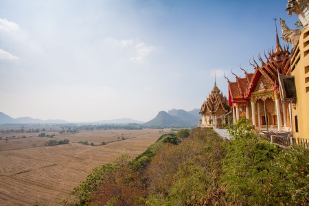 Wat Tham Sua, Kanchanburi, Thailand photo