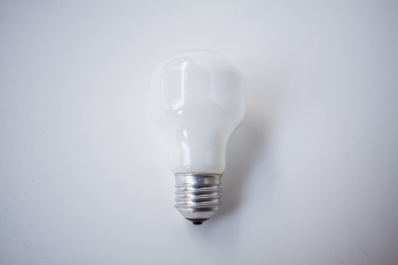 Lightbulbs  Isolated  photo
