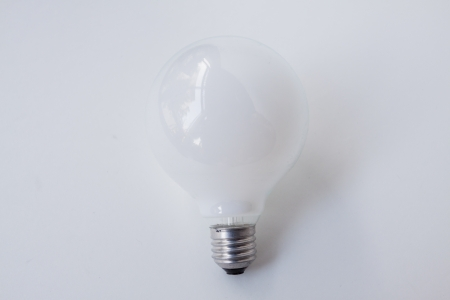 Lightbulbs  Isolated on White Background  photo