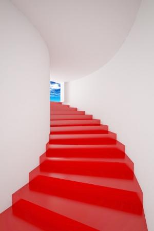 Red Staircase  photo