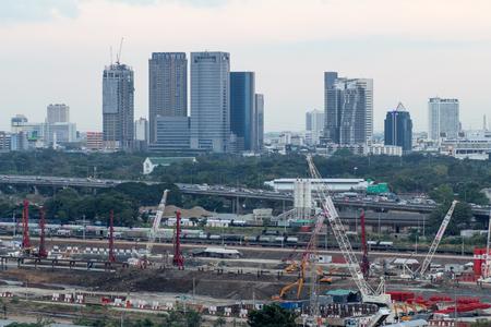 construction site in bangkok