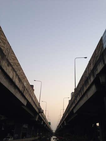 hight: Under the hight way in bangkok