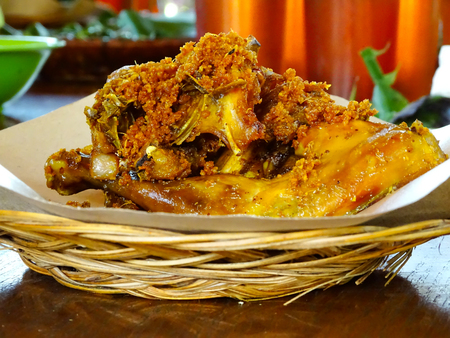 Ayam goreng, The Indonesian Fried Chicken