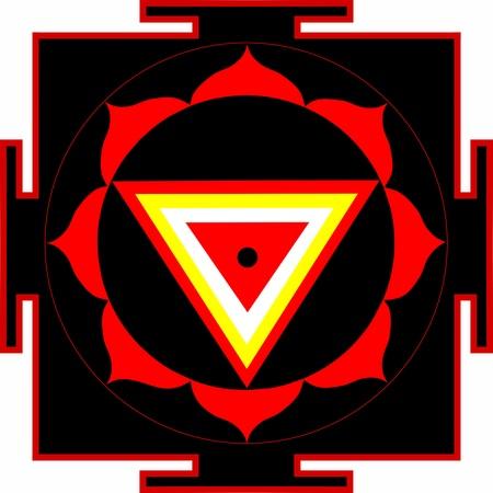 divinit�: Sacr� yantra de Kali Shrimati
