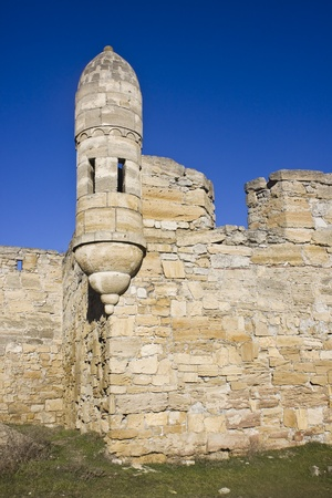 Tower of the Yeni-Kale fortess in Kerch