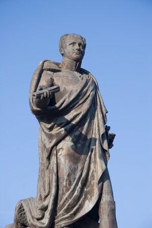 tsar: Monument of russian tsar Alexander I in Taganrog Editorial