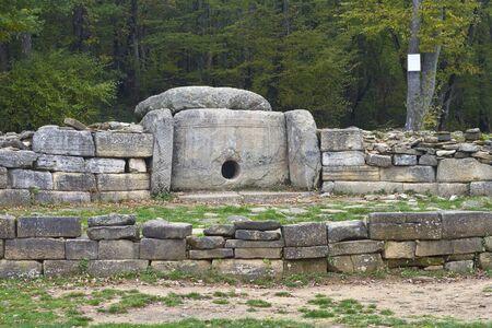 Ancient Dolmen near Gelendzjk, Krasnodar region, Russia