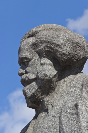 Memorial of Karl Marx at the Theatral square in Moscow