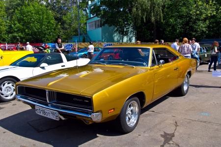 dodge: Moscow, park Sokolniki - Festival Retrofest. Dodge Charger