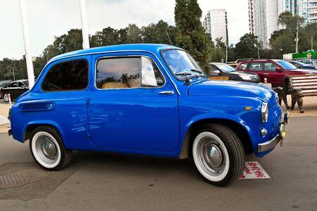 July 21, 2012 - Moscow, park Sokolniki - Festival Retrofest. Retro car show Stock Photo - 14612205