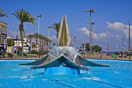 Fountain in Netanya