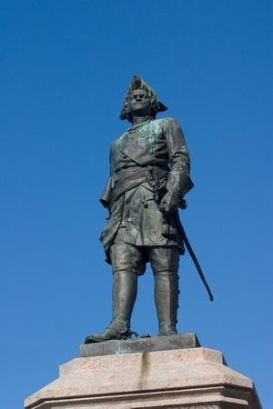 thar: Monument of thar Peter the Great in Arkhangelsk