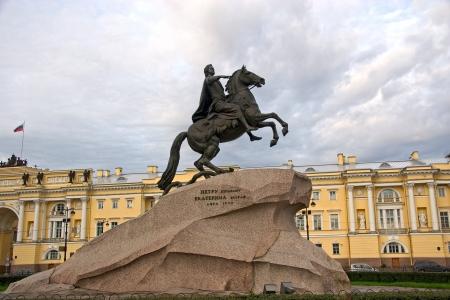 uomo a cavallo: The Copper Horseman