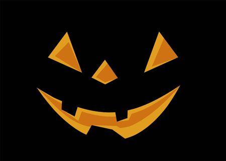 samhain: S�mbolo de Halloween, linterna de la calabaza