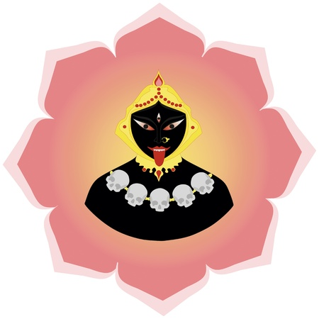 Goddess Kali Vector