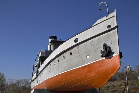 volgograd: Heroic fireboat  The Extinguisher in Volgograd