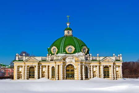 pavillion: Grotto in Kuskovo