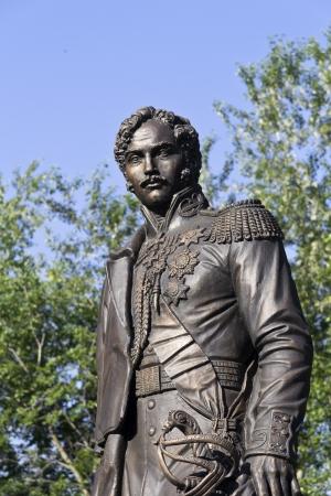 Monumento di Alessandro Chernyshev in Chernyshevs immobiliare in Lytkarino, zona di Mosca. Alexander Chernyshev (1786-1857) ? stato il generale ajutant, eroe della guerra patriottica 1812, Ministro della guerra