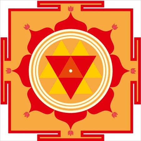 durga: Sacred yantra of Shrimati Durga Devi
