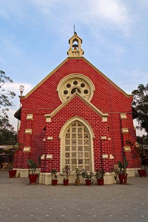 gujarat: Protestant church in Ahmedabad, Gujarat, Insia Stock Photo